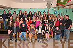 21th Birthday:Celebrating his 21th birthday with family & friends,Noelle McCarthy, Ballylongford,  third from left, front at Tje Golf Hotel, Ballybunion, on Saturday night,
