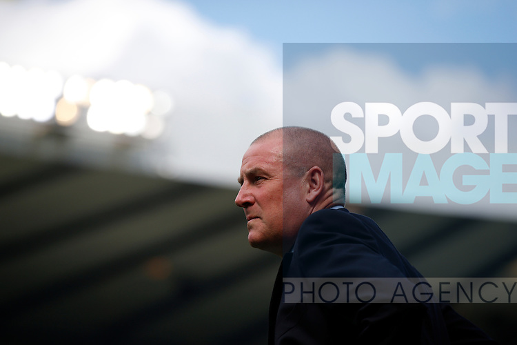 Rangers manager, Mark Warburton during the William Hill Scottish Cup Final match at Hampden Park Stadium.  Photo credit should read: Lynne Cameron/Sportimage