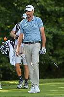 Bethesda, MD - July 1, 2017: Geoff Oglivy walks down the fairway during Round 3 of professional play at the Quicken Loans National Tournament at TPC Potomac in Bethesda, MD, July 1, 2017.  (Photo by Elliott Brown/Media Images International)