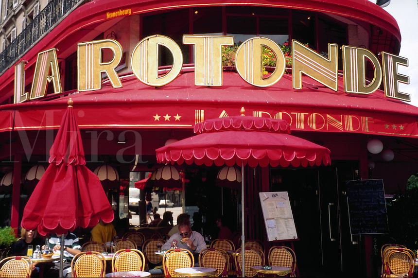 La Rotonde, Montparnasse, Paris, France