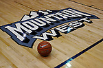 February 13, 2010:  Mountain West Conference basketball at Clune Arena, U.S. Air Force Academy, Colorado Springs, Colorado.