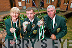 Deirdre, Luke and Philip O'Sullivan from Caherslee, Tralee. All three are part of Irish Angling Team and won medals at the 2013 International Shore Angling Championships in Wales.