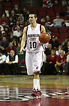 Taylor Rochestie, Washington State University senior guard, runs the offense during a game on December 13, 2008, at Key Arena in Seattle, Washington, against Montana State.  Rochestie and the rest of his Cougar teammates defeated Montana State 70-51.