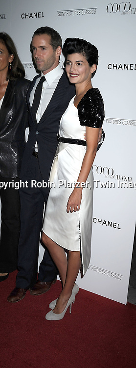 Alessandro Nivola and Audrey Tautou