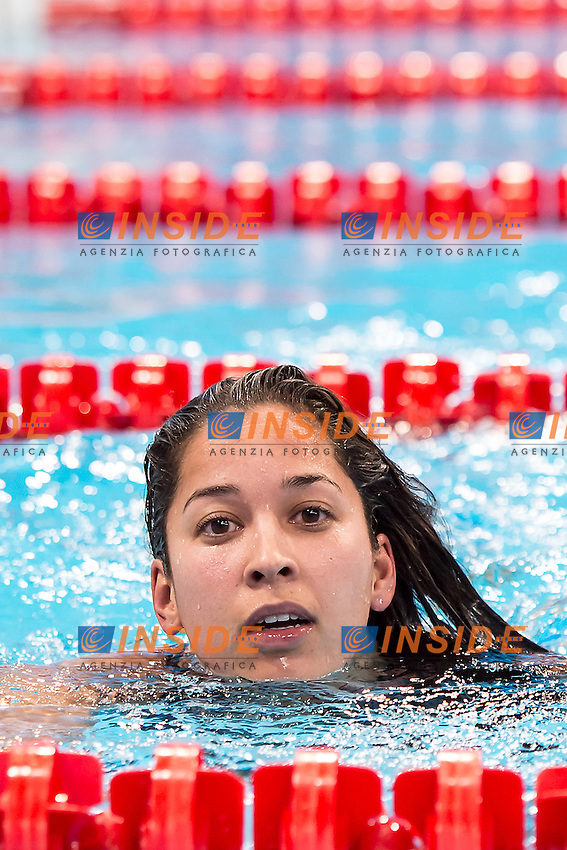 KROMOWIDJOJO Ranomi NED<br /> 100 freestyle women<br /> London, Queen Elizabeth II Olympic Park Pool <br /> LEN 2016 European Aquatics Elite Championships <br /> Swimming day 02  heats<br /> Day 09 17-05-2016<br /> Photo Giorgio Scala/Deepbluemedia/Insidefoto