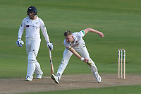 Sam Cook in bowling action for Essex during Essex CCC vs Yorkshire CCC, Specsavers County Championship Division 1 Cricket at The Cloudfm County Ground on 4th May 2018