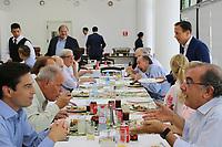 SÃO PAULO, SP, 02.02.2019: POLÍTICA-SP: João Doria, Governador de São Paulo, almoça com secretários, no restaurante dos funcionários do Palácio dos Bandeirantes, neste sábado, 2.( Foto: Charles Sholl/Brazil Photo Press)