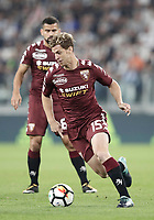 Calcio, Serie A: Torino, Allianz Stadium, 23 settembre 2017. <br /> Torino's Cristian Ansaldi in action during the Italian Serie A football match between Juventus and Tori0i at Torino's Allianz Stadium, September 23, 2017.<br /> UPDATE IMAGES PRESS/Isabella Bonotto