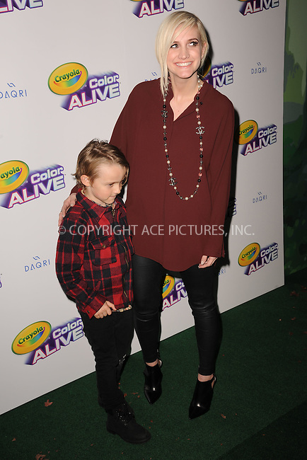 WWW.ACEPIXS.COM<br /> February 05, 2015 New York City<br /> <br /> Bronx Mowgli Wentz and Ashlee Simpson Ross attending 'Color Alive' Launch Event at Open House Gallery on February 05, 2015 in New York City.<br /> <br /> Please byline: Kristin Callahan/AcePictures<br /> <br /> ACEPIXS.COM<br /> <br /> Tel: (646) 769 0430<br /> e-mail: info@acepixs.com<br /> web: http://www.acepixs.com