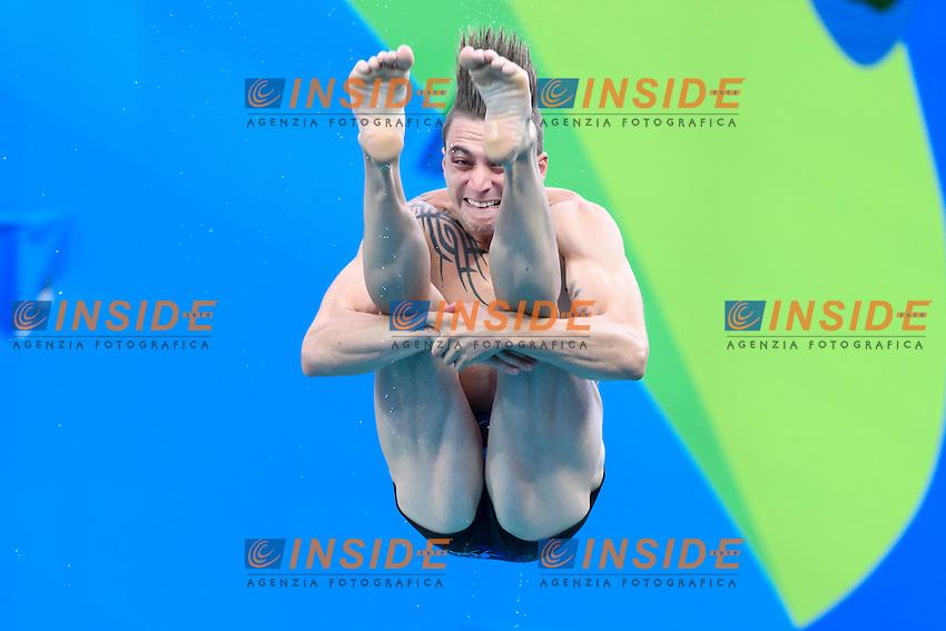 ROSSET Matthieu FRA <br /> Rio de Janeiro 15-08-2016 Maria Lenka Aquatics Center  <br /> Men's 3m Springboard Preliminaries <br /> Diving Tuffi <br /> Foto Andrea Staccioli / Deepbluemedia /Insidefoto