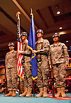 February 3, 2012:   The Nevada Color Guard presents the flag for the National Anthem before the start of the boxing matches held at the Eldorado Convention Center on Friday night in Reno, Nevada.