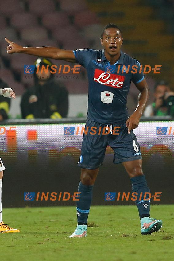 Jonathan De Guzman Napoli,  <br /> Napoli 24-09-2014 Stadio San Paolo <br /> Football Calcio Serie A Napoli - Palermo<br /> Foto Cesare Purini / Insidefoto