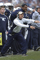 18 November 2006:  Penn State defensive coordinator Tom Bradley.  The Penn State Nittany Lions defeated the Michigan State Spartans 17-13 for the Land Grant Trophy November 18, 2006 at Beaver Stadium in State College, PA...