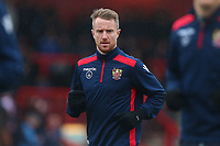 Dean Bowditch of Stevenage during Stevenage vs Luton Town, Sky Bet EFL League 2 Football at the Lamex Stadium on 10th February 2018