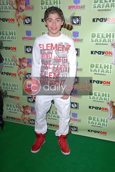"""Ryan Ochoa<br /> at the """"Delhi Safari"""" North American Premiere, Pacific Theaters, Los Angeles, CA 12-03-12<br /> David Edwards/DailyCeleb.com 818-249-4998"""