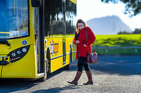 Bay Of Plenty Regional Council Bayhopper bus photoshoot in Tauranga, New Zealand on Monday, 22 July 2019. Photo: Dave Lintott / lintottphoto.co.nz