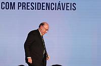 SAO PAULO, 07.08.2018  - ELEI&Ccedil;&Otilde;ES 2018   - O candidato Henrique Meirelles do MDB participa da Govtech 2018 na tarde desta ter&ccedil;a-feira (07) no hotel Tivoli Mofarrej na zona sul de S&atilde;o Paulo.<br /> (Foto: Fabricio Bomjardim / Brazil Photo Press)
