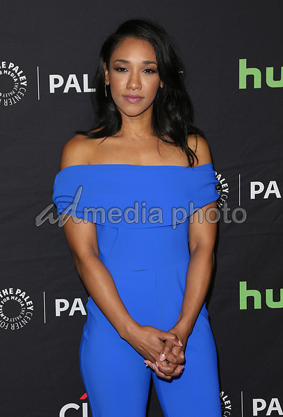 "18 March 2017 - Hollywood, California - Candice Patton. The Paley Center For Media's 34th Annual PaleyFest Los Angeles - The CW ""Heroes & Aliens"" held at Dolby Theatre. Photo Credit: AdMedia"