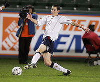 Sacha Kljestan, USA over Trinidad, 6-1, Wednesday, Jan. 12, 2005, in Carson, California.