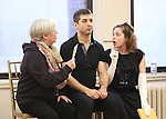 Nancy Opel, Tony Yazbeck and Rachel Bloom during the Press Rehearsal for the Manhattan Concert Production of 'Crazy For You'  at Pearl Studios on February 16, 2017 in New York City.