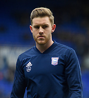 Ipswich Town's Callum Elder during the pre-match warm-up <br /> <br /> Photographer Hannah Fountain/CameraSport<br /> <br /> The EFL Sky Bet Championship - Ipswich Town v Rotherham United - Saturday 12th January 2019 - Portman Road - Ipswich<br /> <br /> World Copyright &copy; 2019 CameraSport. All rights reserved. 43 Linden Ave. Countesthorpe. Leicester. England. LE8 5PG - Tel: +44 (0) 116 277 4147 - admin@camerasport.com - www.camerasport.com