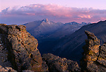 Longs Peak, Rock Cut, Trail Ridge, Rocky Mountain National Park, Colorado, mountains, majestic