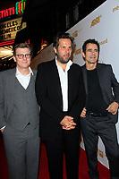 LOS ANGELES - OCT 6: Henk Handloegten, Achim von Borries, Tom Tykwer at the Babylon Berlin International Premiere held at The Theatre at Ace Hotel on October 6, 2017 in Los Angeles, CA