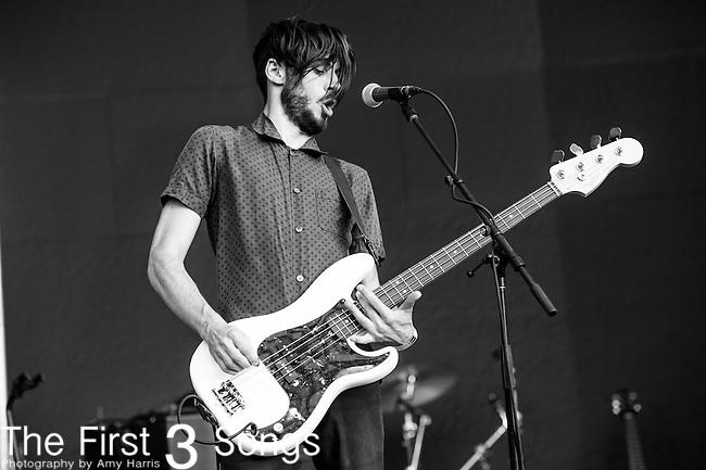 Chris Null of Dead Sara performs at the 2014 Bunbury Music Festival in Cincinnati, Ohio