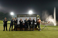 The presentation ceremony and officials during the final round of the Turkish Airlines Open, Montgomerie Maxx Royal Golf Club, Belek, Turkey. 10/11/2019<br /> Picture: Golffile | Phil INGLIS<br /> <br /> <br /> All photo usage must carry mandatory copyright credit (© Golffile | Phil INGLIS)