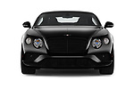 Car photography straight front view of a 2016 Bentley Continental-GT V8 3 Door Coupe Front View