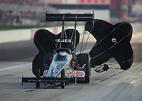 Sept. 1, 2012; Claremont, IN, USA: NHRA top fuel dragster driver Bob Vandergriff Jr during qualifying for the US Nationals at Lucas Oil Raceway. Mandatory Credit: Mark J. Rebilas-