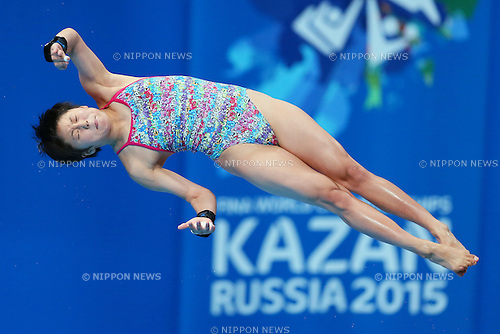Nana Sasaki (JPN), JULY 29, 2015 - Diving : 16th FINA World Championships Kazan 2015 Women's 10m Platform Preliminary at Aquatics Palace in Kazan, Russia. (Photo by Yohei Osada/AFLO SPORT)
