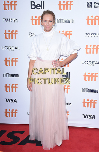 """TORONTO, ONTARIO - SEPTEMBER 07: Toni Collette attends the """"Knives Out"""" premiere during the 2019 Toronto International Film Festival at Princess of Wales Theatre on September 07, 2019 in Toronto, Canada.     <br /> CAP/MPI/IS<br /> ©IS/MPI/Capital Pictures"""
