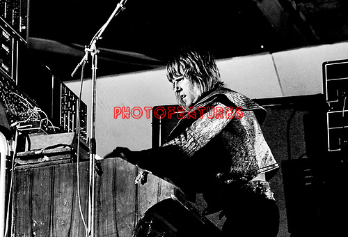 Emerson Lake & Palmer 1972 Keith Emerson ELP<br />© Chris Walter