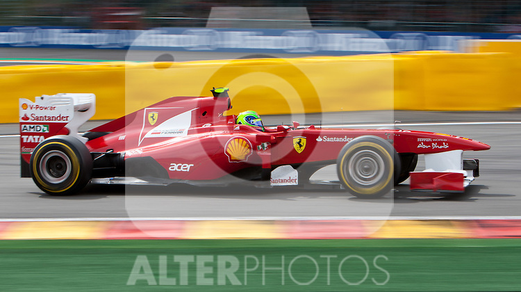 28.08.2011, Circuit de Spa, Francorchamps, BEL, F1, Grosser Preis von Belgien, im Bild Felipe Massa (BRA), Scuderia Ferrari // during race at Formula One Championships 2011 Belgian Grand Prix held at the Circuit de Spa, Francorchamps, Belgium, 28/8/2011, EXPA Pictures © 2011, PhotoCredit: EXPA/ J. Groder