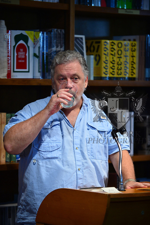 CORAL GABLES, FL - OCTOBER 02: Author Jeff Lindsay greets fans and signs copies of 'Dexters Final Cut' at Books and Books on October 2, 2013 in Coral Gables, Florida. (Photo by Johnny Louis/jlnphotography.com)
