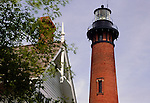 Currituck Beach Lighthouse, Corolla, Currituck County, North Carolina, USA