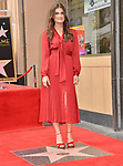 Irina Menzel -Star WofF 029 ,  Kristen Bell And Idina Menzel  Honored With Stars On The Hollywood Walk Of Fame on November 19, 2019 in Hollywood, California