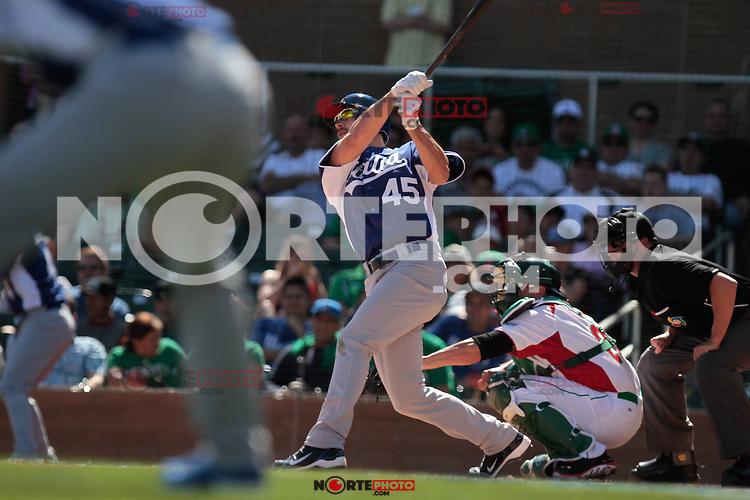 Mario Chiarini , durante el partido de  Mexico vs Italia, 2013 World Baseball Classic, Estadio Salt River Field en Scottsdale, Arizona  ,7 de marzo 2013...07 marzo 2013 ....photo© Baldemar de los Llanos