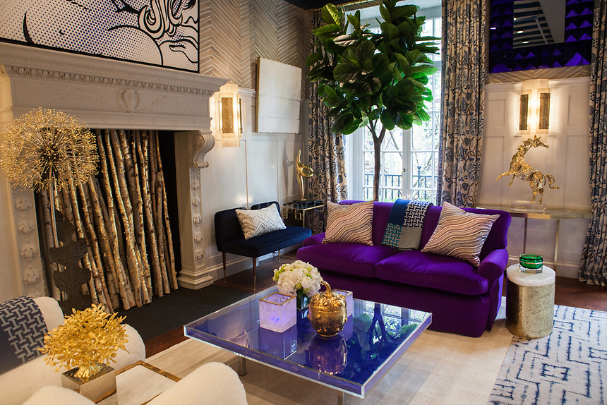 Design by Kirsten Kelli LLC at The 45th Kips Bay Decorator Show House, at 125 East 65th St. <br /> <br /> Danny Ghitis for The New York Times