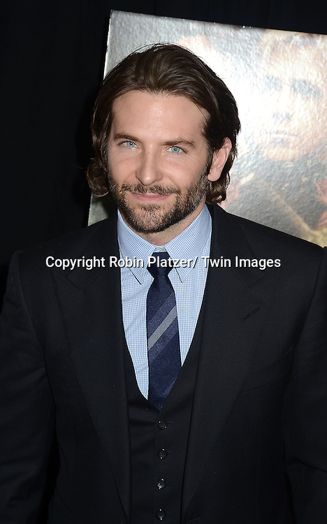 """Bradley Cooper attends Focus Features' """"The Place Beyond The Pines""""  New York Premiere on March 28, 2013 at The Landmark Sunshine Cinema in New York City."""
