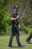Ryan Moore (USA) after sinking his birdie putt on 2 during Round 4 of the Valero Texas Open, AT&amp;T Oaks Course, TPC San Antonio, San Antonio, Texas, USA. 4/22/2018.<br /> Picture: Golffile | Ken Murray<br /> <br /> <br /> All photo usage must carry mandatory copyright credit (&copy; Golffile | Ken Murray)