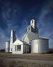 Grain Elevators.Long Island, Kansas
