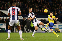 Leeds United's Mateusz Klich fires a shot towards goal<br /> <br /> Photographer David Shipman/CameraSport<br /> <br /> The EFL Sky Bet Championship - West Bromwich Albion v Leeds United - Saturday 10th November 2018 - The Hawthorns - West Bromwich<br /> <br /> World Copyright &copy; 2018 CameraSport. All rights reserved. 43 Linden Ave. Countesthorpe. Leicester. England. LE8 5PG - Tel: +44 (0) 116 277 4147 - admin@camerasport.com - www.camerasport.com