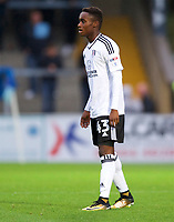 Steven Sessegnon of Fulham during the Carabao Cup match between Wycombe Wanderers and Fulham at Adams Park, High Wycombe, England on 8 August 2017. Photo by Alan  Stanford / PRiME Media Images.