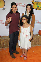 UNIVERSAL CITY, CA - OCTOBER 21:  Booboo Stewart and Fivel Stewart and Sage Stewart at the Camp Ronald McDonald for Good Times 20th Annual Halloween Carnival at the Universal Studios Backlot on October 21, 2012 in Universal City, California. ©mpi28/MediaPunch Inc. /NortePhoto