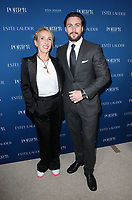 LOS ANGELES, CA - OCTOBER 9: Sam Taylor-Johnson, Aaron Taylor-Johnson, at Porter's Third Annual Incredible Women Gala at The Ebell of Los Angeles in California on October 9, 2018. Credit: Faye Sadou/MediaPunch