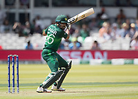 Babar Azam (Pakistan) cuts backward of point during Pakistan vs Bangladesh, ICC World Cup Cricket at Lord's Cricket Ground on 5th July 2019
