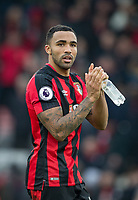 Callum Wilson of AFC Bournemouth at full time during the Premier League match between Bournemouth and Arsenal at the Goldsands Stadium, Bournemouth, England on 14 January 2018. Photo by Andy Rowland.