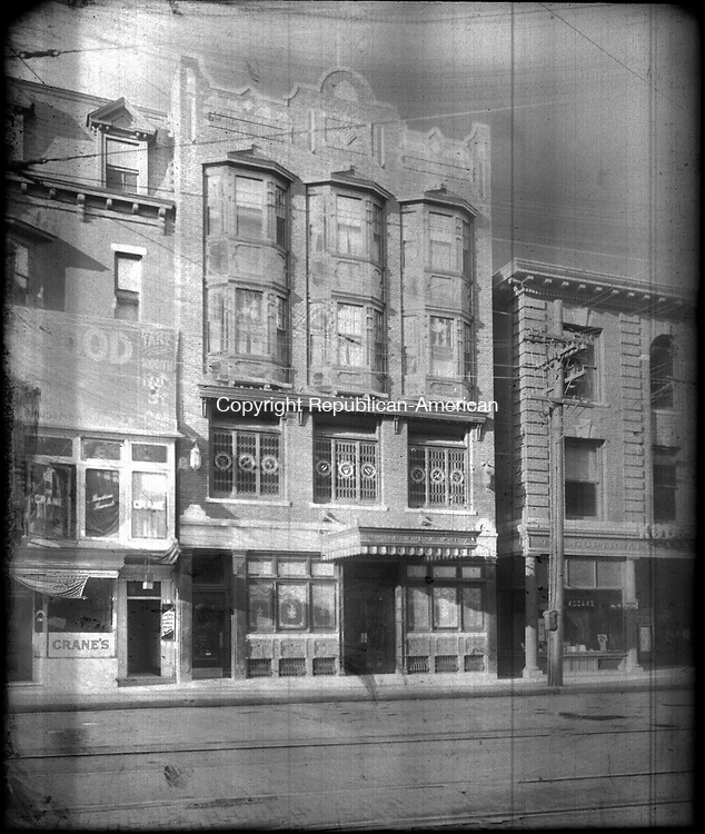 Frederick Stone negative. Hodson Building, undated photo.